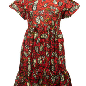 Finnkibu Nami-mekko-punainen