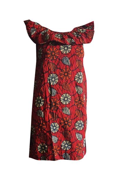 Finnkibu Igomero kitenge mekko