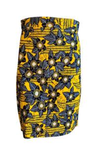 finnkibu mbula kitenge hame-keltainen