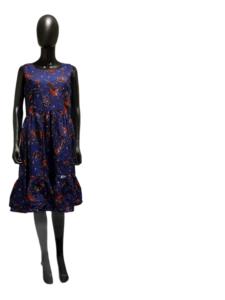kasenene Blue summer dress