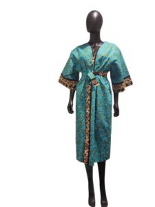 kimono baby blue