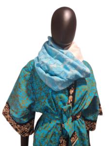 luxury handwoven scarf
