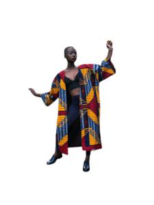 African Kimono Tropical punch