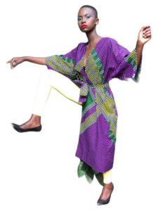 African Kimono ORCHID