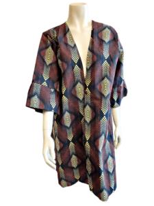 African Kimono Brown