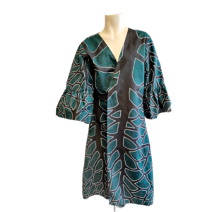 African Kimono Black